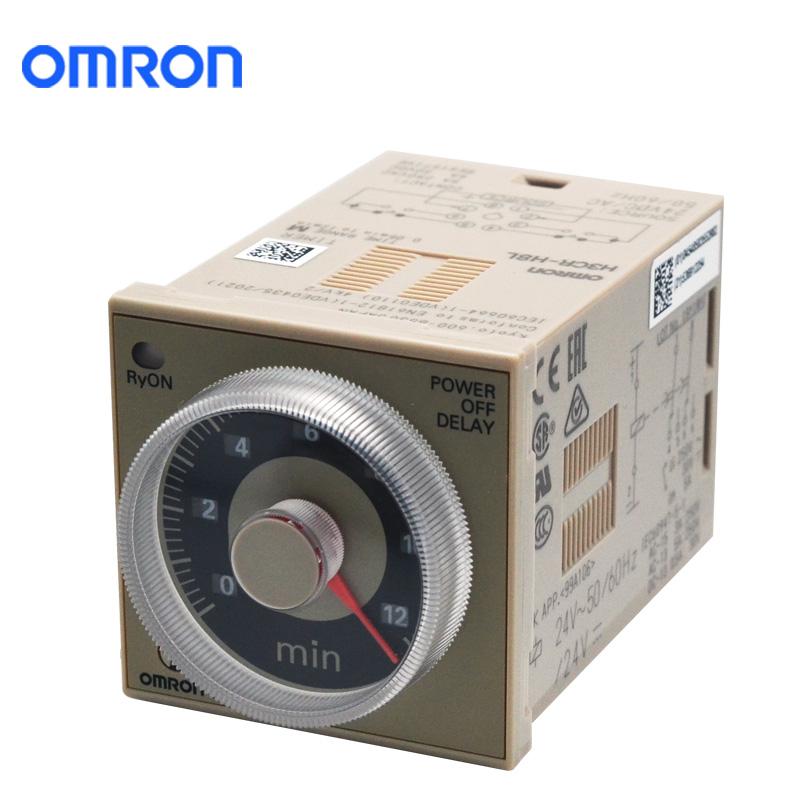 OMRON 欧姆龙 H3CR-H8L(24V)时间继电器