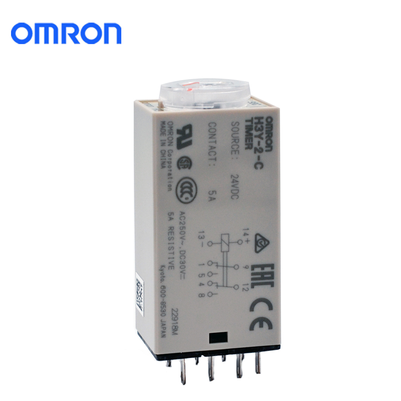 OMRON 欧姆龙 H3Y-2-C(24VDC)定时器