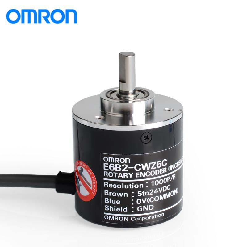 欧姆龙E6B2-CWZ6C 1000P/R 2M旋转编码器