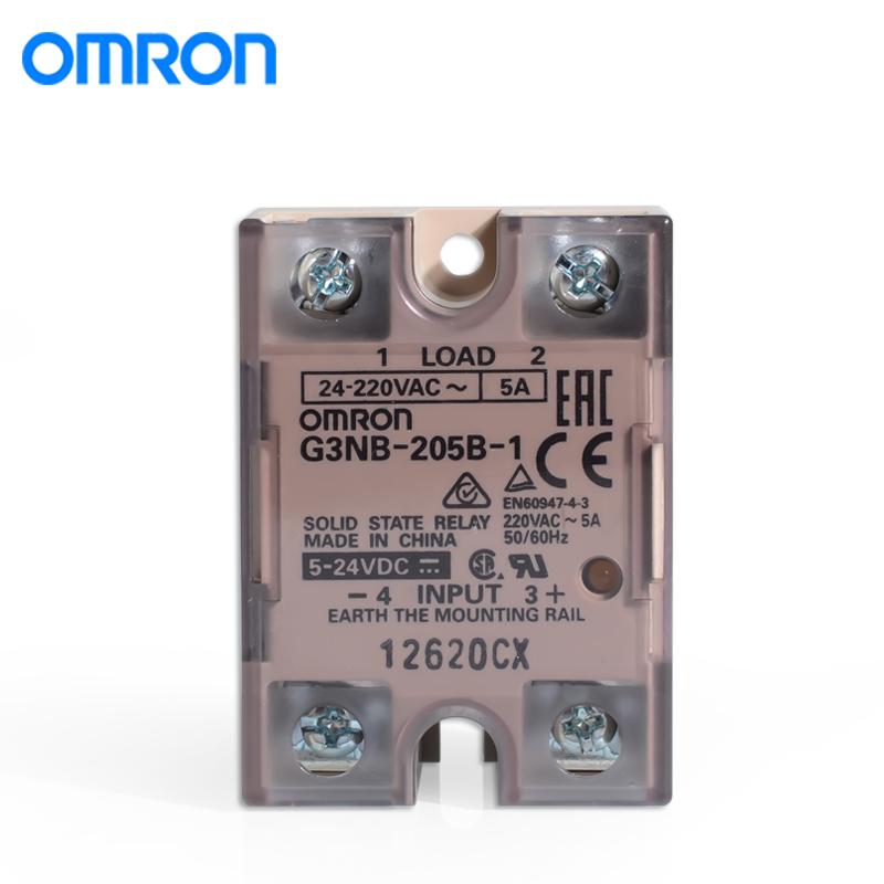 欧姆龙G3NA-D210B DC5-24 固态继电器