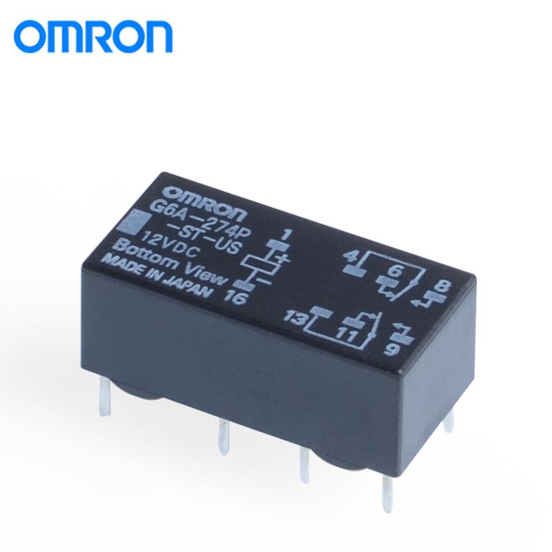 欧姆龙G6A-274P-ST-US-12VDC继电器